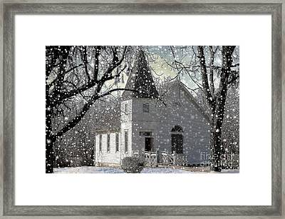 Higgensville Church Framed Print
