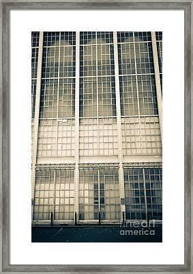 Higgins Armory Art-deco Building Framed Print by Edward Fielding
