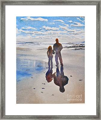 Higgins Beach Framed Print by Andrea Timm
