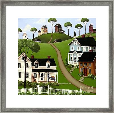 Higginsville  Framed Print by Catherine Holman