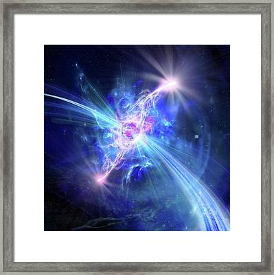 Higgs Boson Framed Print by Harald Ritsch