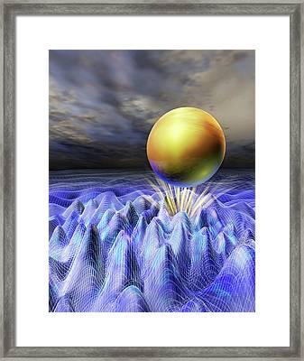 Higgs Boson Framed Print by Nicolle R. Fuller