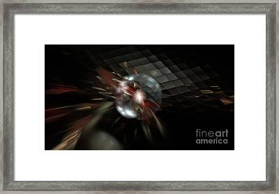 Higgs Boson Framed Print by Peter R Nicholls
