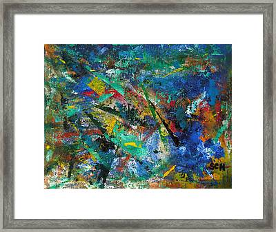 Higgs Field Activity -or- Paint Framed Print