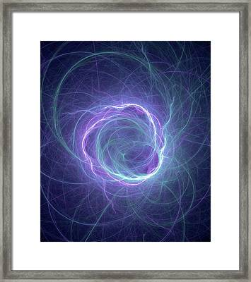 Higgs Field Framed Print