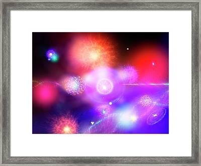 Higgs Field Framed Print by Richard Kail