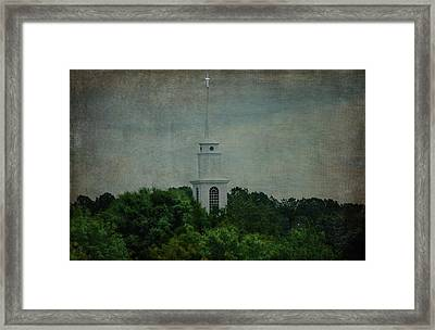 High Above Framed Print