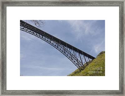 High Above Framed Print