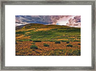 High Alpine Framed Print by Brian Kerls