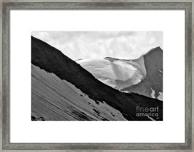 High Alpine Region In Austria Framed Print