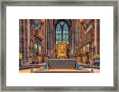 High Altar Framed Print by Adrian Evans
