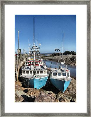 High And Dry In Alma Framed Print by Patricia Januszkiewicz