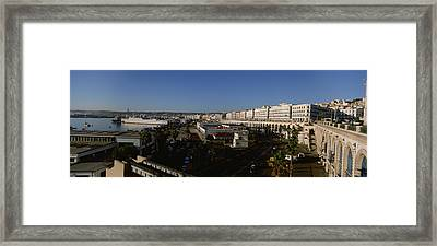 High Angle View Of A City, Algiers Framed Print by Panoramic Images