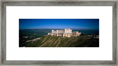 High Angle View Of A Fort, Crac Des Framed Print by Panoramic Images