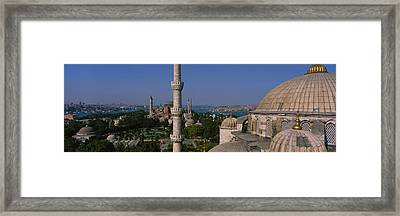 High Angle View Of A Mosque, St Framed Print by Panoramic Images