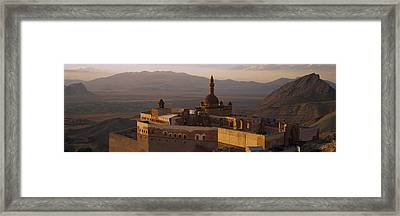 High Angle View Of A Palace, Ishak Framed Print by Panoramic Images