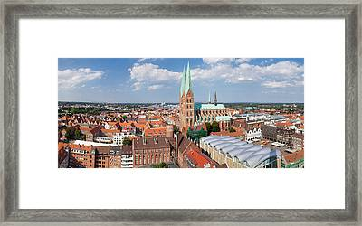 High Angle View Of The St. Marys Framed Print by Panoramic Images