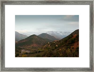 High Atlas Framed Print by Daniel Kocian