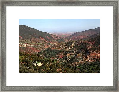 High Atlas Morocco Framed Print