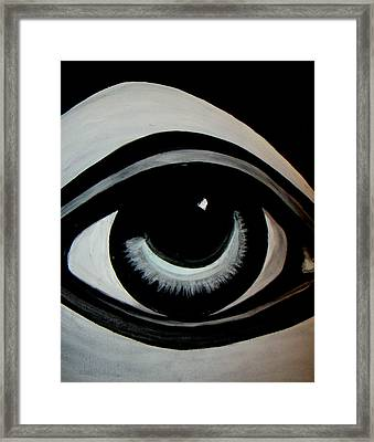 High Brow Framed Print