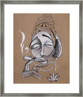 High Framed Print by Chibuzor Ejims