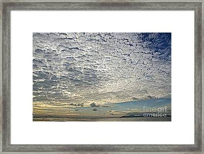 High Clouds Framed Print
