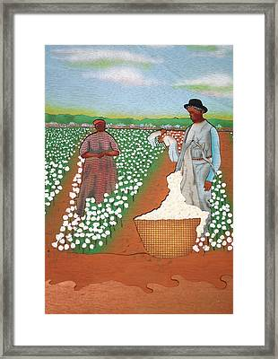 High Cotton Framed Print by Fred Gardner