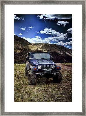 High Country Adventure Framed Print by Ellen Heaverlo