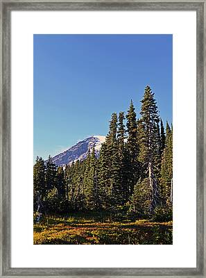 Framed Print featuring the photograph High Country by Anthony Baatz