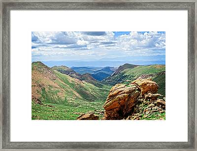 High Country Framed Print by Charles Dobbs