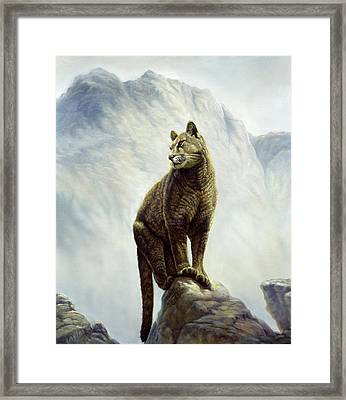 High Country Framed Print by Gregory Perillo