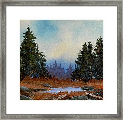 High Country Framed Print by Richard Hinger