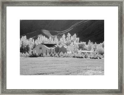 High Country Station Framed Print