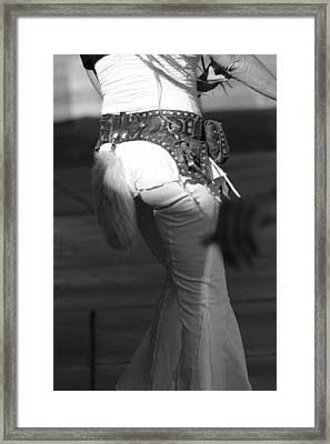 High Desert Fashion Framed Print