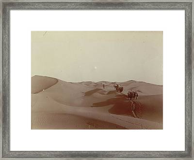 High Dunes South Of Camp 328 Framed Print by British Library
