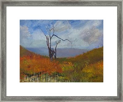 High Fall Framed Print by William Killen