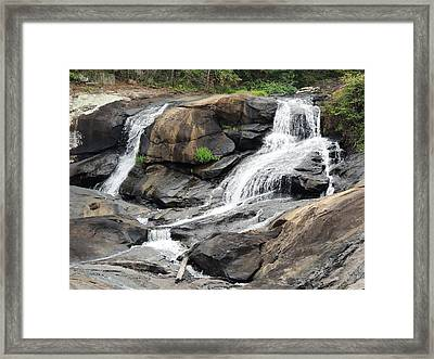 High Falls Framed Print by Aaron Martens