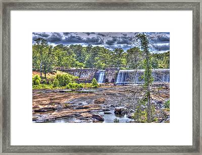 High Falls Dam Framed Print