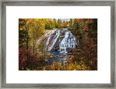 High Falls Framed Print by John Haldane