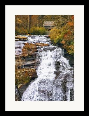 Whitewater Framed Prints