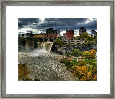 High Falls Framed Print by Tim Buisman