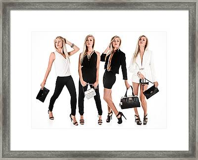 High Fashion Framed Print by Jt PhotoDesign