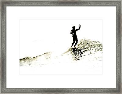 Framed Print featuring the photograph High Five by Paul Topp