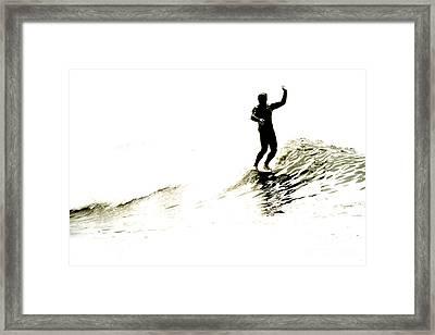 High Five Framed Print by Paul Topp