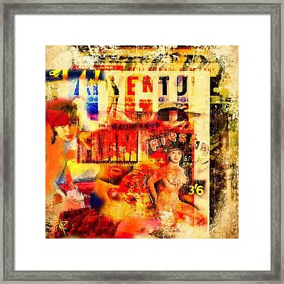 High Flame Fiesta Framed Print by Russell Pierce