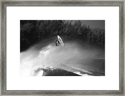 High Flyer Framed Print by Sean Davey