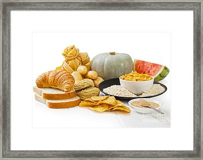 High Glycaemic Index Foods Framed Print