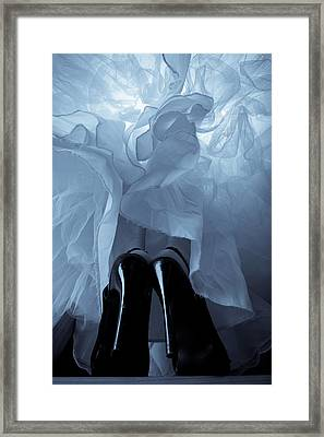High Heels And Petticoats Framed Print