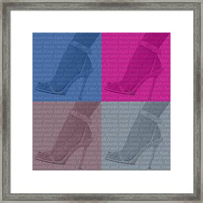High Heels  Framed Print by Dan Sproul
