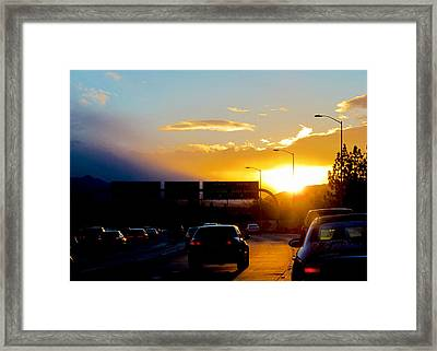 High Intensity 4 Framed Print